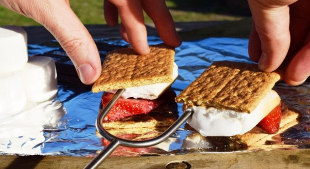 s'more, smores, nutella, camping, colorado bend, strawberry smores, nutella smores